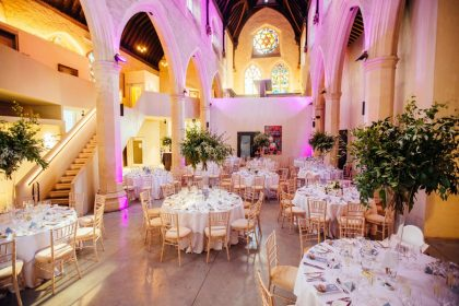 Garden Museum Wedding Venue, The Nave
