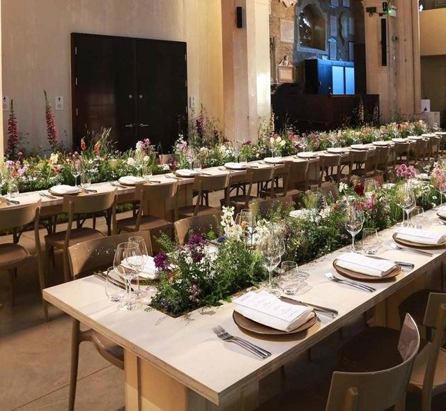 Garden Museum Corporate Dinner, The Nave