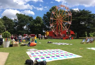 Strawberry Hill House Summer Festival, Lawn