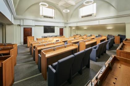 113 Chancery Lane The Law Society, The Rawle Council Chamber, Photo by Paula Beetlestone