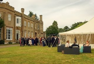 Nonsuch Mansion Birthday Party, Lawn