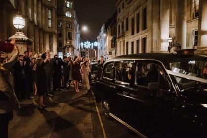 113 Chancery Lane Wedding Venue, Outside space