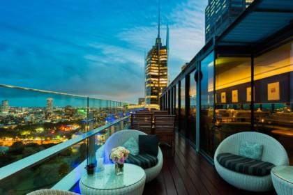 Intercontinental Sydney Private Dinner, Club Lounge