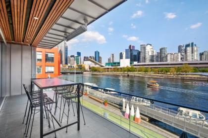 River's Edge Events Social Drinks, Balcony