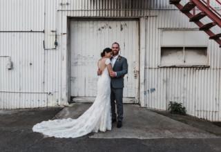 Gather & Tailor -Wedding-couple-portrait-outside-Gather-Tailor-Melbourne-Photo-by-Art-of-Grace.jpg