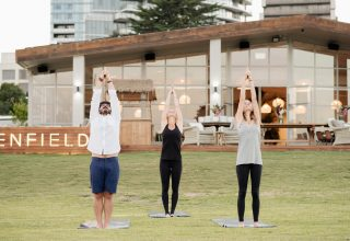 Greenfields Albert Park Yoga Sessions, Gardens