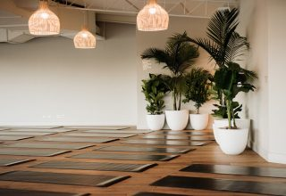 Greenfields Albert Park Corporate Yoga Sessions, Main Room