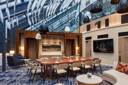 Pearl Riverfront Atrium Room Board Meeting