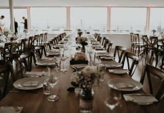 Elmswood Estate Wedding Yarra Valley Winery Photo by One Spoon Two Spoon Reception Tables