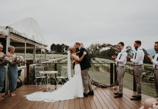 Elmswood Estate Wedding Venue, Terrace, Photos by One Spoon Two Spoon