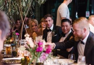 Jardin Tan wedding reception dinner Melbourne