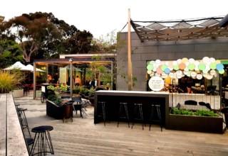 Jardin Tan Private Party, Garden Deck