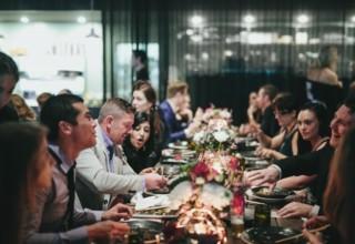 Jardin Tan Corporate Dinner, Entire Venue