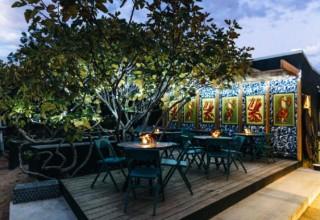Jardin Tan Private Dinner, Garden Deck