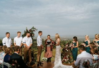 Elmswood Estate Wedding Venue, Intimate Rose Garden