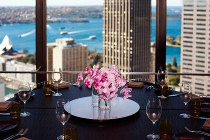 O Bar Dining Sydney Harbour Views Restaurant Skyscraper