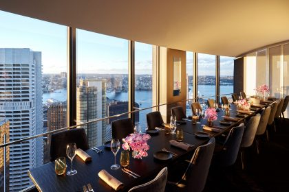 Private Dining Room O Bar Dining Views Sydney Harbour