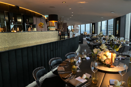 O Bar Dining Sydney Private Events
