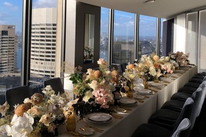 O Bar Wedding Venue, Private Dining Room