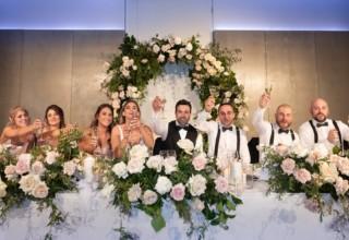 Zinc Fed Square Weddings Melbourne, Photo by Dezine By Mauro Wedding Party