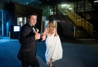 Entrance Zinc Fed Square Weddings Melbourne, Photo by Dezine By Mauro