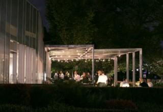 ZINC Federation Square weddings, outdoor terrace