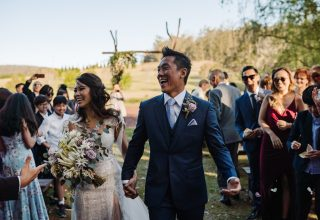 The Woodhouse Wollombi outdoor wedding ceremony