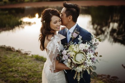 The Woodhouse Wollombi wedding couple photoshoot