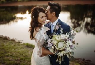 The Woodhouse Wollombi wedding couple