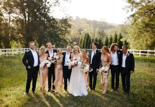 The Woodhouse Wollombi wedding party