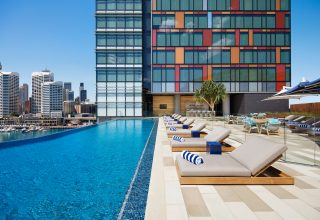 Sofitel Darling Harbour Sydney Rooftop Pool