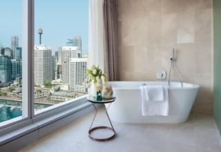 Sofitel Darling Harbour Sydney Hotel Room Bathroom