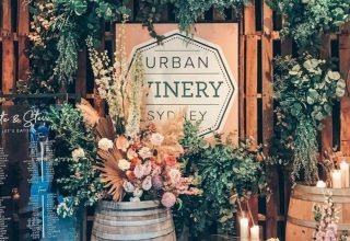 Urban Winery Sydney Events Welcome Station
