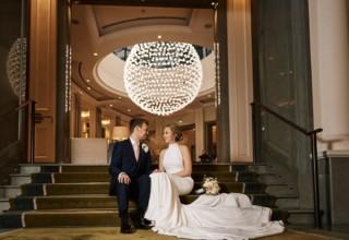 Couple Wedding Corinthia London Photo by KND Photography