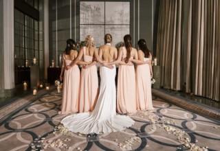 Bridesmaids Corinthia London Hotel Wedding Photo by KND Photography
