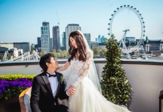 Corinthia London Wedding View River Thames