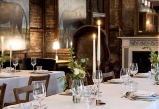 Brunswick House London wedding open evening 2020 saloon room-min