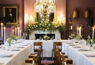 Brunswick House London wedding open evening 2020 saloon-min