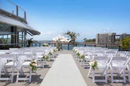 Cruise Bar Sydney Rooftop Ceremony Venue Circular Quay
