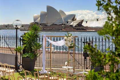 Cruise Bar Sydney waterside wedding venue