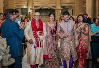 London Banking Hall Wedding Ceremony Photo by Epic Moments UK