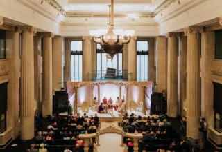 London Banking Hall Wedding Indian Ceremony Photo by Epic Moments UK