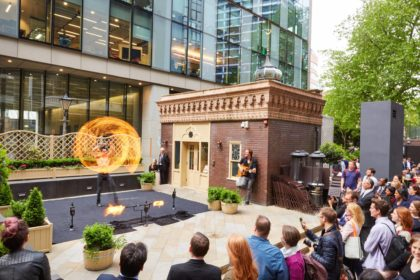 Victorian Bath House Bishopsgate London Private Events Venue