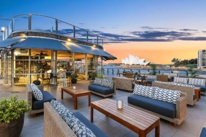 Cruise Bar Sydney Waterside Rooftop Venue Circular Quay