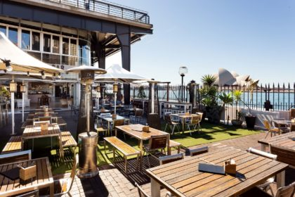 Cruise Bar Sydney Outdoor Waterfront Terrace