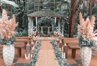 Coolibah Downs Private Estate Wedding Ceremony Outdoor Gazebo