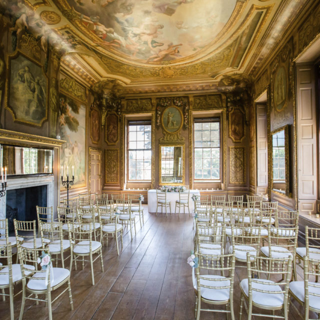 The Little Banqueting House at Hampton Court Palace wedding ceremony venue near London