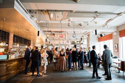 The Anthologist by Drake & Morgan Social Event Venue London, Photo By Fiona Kelly Photography
