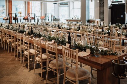 The Anthologist by Drake & Morgan London Wedding Venue, Photo By Greg Coltman Photography