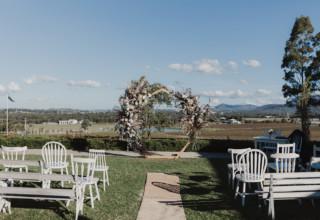 Estate Tuscany Hunter Valley Wedding Ceremony